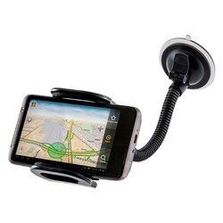 Универсальный автомобильный держатель Car holder 111 (Defender 29111) - Автомобильный держатель для телефонаАвтомобильные держатели для мобильных телефонов<br>Автомобильный держатель предназначен для удобного и надежного крепления телефона или планшета в автомобиле. Аксессуар имеет крепление на присоске, надёжно фиксируя ваш девайс, тем самым предохраняя его от тряски и ударов. Подходит для устройств с диагональю до 7quot;.