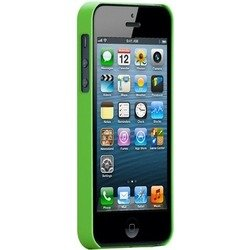 чехол для apple iphone 5, 5s (case matte barely there cm022885) (салатовый)
