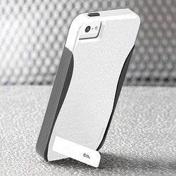 чехол для apple iphone 5, 5s (casemate pop cm022368) (серый)