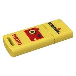 Iconik RB-FOTO-16GB - USB Flash driveUSB Flash drive<br>Iconik RB-FOTO-16GB - флэш-накопитель 16 Гб, интерфейс USB 2.0, материал корпуса: резина