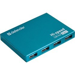 Концентратор USB 2.0 (Defender SEPTIMA SLIM 83505) - USB HUBUSB-концентраторы<br>Контроллер USB-хаб компании Defender имеет 7 внешних портов USB 2.0 с возможностью зарядки от USB.