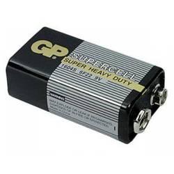 Алкалиновая батарейка 9V (GP 1604S(6F22)-B)  - Батарейка, аккумуляторБатарейки и аккумуляторы<br>С батарейкой GP Ваше цифровое устройство проработает дольше и не подведет в самый ответственный момент. Не содержит ртути