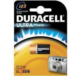 Литиевая батарейка CR123A (Duracell DL123A Ultra) - Батарейка, аккумуляторБатарейки и аккумуляторы<br>С батарейкой Duracell Ваше цифровое устройство проработает дольше и не подведет в самый ответственный момент.