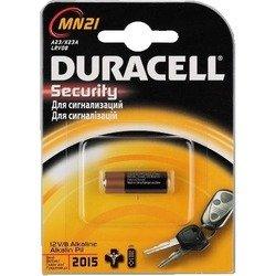 Алкалиновая батарейка MN21 (Duracell MN21 B1 Security) - Батарейка, аккумуляторБатарейки и аккумуляторы<br>В основном используются в брелках автомобильных сигнализаций.