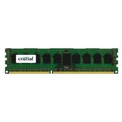 Crucial CT8G3ERSDD8186D - Память для компьютераМодули памяти<br>Crucial CT8G3ERSDD8186D - 1 модуль памяти DDR3, объем модуля 8 Гб, форм-фактор DIMM, 240-контактный, частота 1866 МГц, поддержка ECC, CAS Latency (CL): 13
