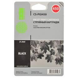 Картридж для Canon Pixma MG6340, MG5440, IP7240, MG7540 (Cactus CS-PGI450) (черный) - Картридж для принтера, МФУ