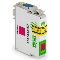 Картридж для Epson Expression Home XP-33, 103, 203, 207, 303, 306, 403, 406 (Cactus CS-EPT1713) (пурпурный) - Картридж для принтера, МФУ
