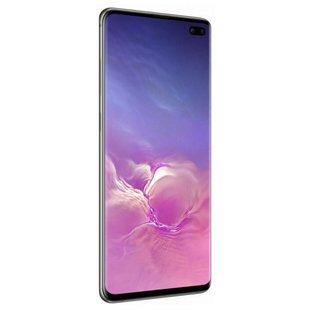 Samsung Galaxy S10+ 8/128GB (черный) - Мобильный телефонМобильные телефоны<br>Смартфон Samsung Galaxy S10+ 8/128GB - GSM, LTE-A, смартфон, Android 9.0, вес 175 г, ШхВхТ 74.1x157.6x7.8 мм, экран 6.4quot;, Bluetooth, NFC, Wi-Fi, GPS, ГЛОНАСС, фотокамера 16 МП, память 128 Гб, аккумулятор 4100 мА?ч