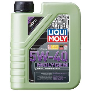 LIQUI MOLY Molygen New Generation 5W-40 1 л