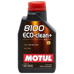 Motul 8100 Eco-clean+ 5W30 1 л