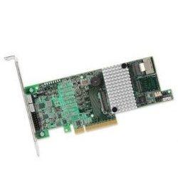 Контроллер SAS/Serial ATA RAID5 (LSI 9271-4I LSI00328) - КонтроллерКонтроллеры<br>Контроллер с аппаратным XOR. Поддерживает 4 устройства с прямым подключением к внешним портам или до 128 устройств с помощью SAS-экспандеров.