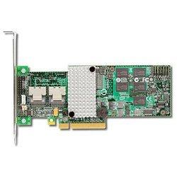 Контроллер SAS/SATA PCIE 512MB (LSI 9260-8I LSI00198) - КонтроллерКонтроллеры<br>Поддержка до 128 SATA- и SAS-накопителей 6Гб/с и 3Гб/с.