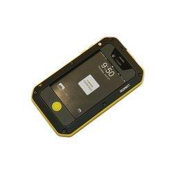 Чехол для Apple iPhone 4, 4S (Palmexx PX/CH iPHO4 LUNAT BLAYEL) (черно-желтый) - Чехол для телефонаЧехлы для мобильных телефонов<br>Стильный чехол плотно облегает корпус и гарантирует надежную защиту от царапин и других нежелательных внешних повреждений.