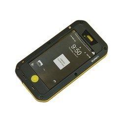 Чехол для Apple iPhone 5, 5S (Palmexx PX/CH iPHO5 LUNAT BLAYEL) (черно-желтый) - Чехол для телефонаЧехлы для мобильных телефонов<br>Стильный чехол плотно облегает корпус и гарантирует надежную защиту от царапин и других нежелательных внешних повреждений.