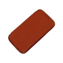 Чехол-книжка для Samsung Galaxy S4 i9500 (Palmexx BOOK COVER) (коричневый) - Чехол для телефонаЧехлы для мобильных телефонов<br>Стильный аксессуар поможет защитить Ваше устройство от царапин и других нежелательных внешних повреждений.