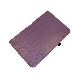 Чехол-книжка для Samsung ATIV Smart PC Pro XE500 (Palmexx SmartSlim) (сиреневый крокодил) - Чехол для планшетаЧехлы для планшетов<br>Стильный аксессуар поможет защитить Ваше устройство от царапин и других нежелательных внешних повреждений.