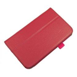 Чехол-книжка для Samsung Galaxy Tab 3 7.0 T2100 (Palmexx SmartSlim) (малиновый) - Чехол для планшетаЧехлы для планшетов<br>Стильный аксессуар поможет защитить Ваше устройство от царапин и других нежелательных внешних повреждений.