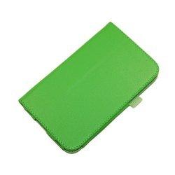 Чехол-книжка для Samsung Galaxy Tab 3 7.0 T2100 (Palmexx SmartSlim) (салатный) - Чехол для планшетаЧехлы для планшетов<br>Стильный аксессуар поможет защитить Ваше устройство от царапин и других нежелательных внешних повреждений.