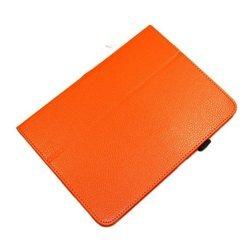 Чехол-книжка для Samsung Galaxy Tab 3 10.1 P5200 (Palmexx SmartSlim) (оранжевый) - Чехол для планшетаЧехлы для планшетов<br>Стильный аксессуар поможет защитить Ваше устройство от царапин и других нежелательных внешних повреждений.