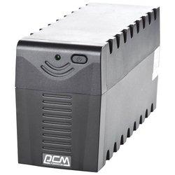 Powercom RPT-800A - Источник бесперебойного питания, ИБПИсточники бесперебойного питания<br>Powercom RPT-800A - интерактивный источник бесперебойного питания, 1-фазное входное напряжение, выходная мощность 800 ВА 480 Вт, 13 мин работы при половинной нагрузке, выходных разъемов: 3 (с питанием от батарей - 3), время зарядки 4 ч, форма выходного сигнала: ступенчатая аппроксимация синусоиды