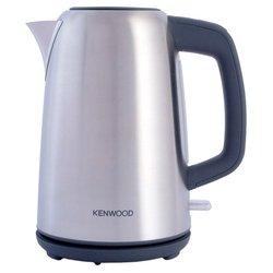 Kenwood SJM-490 - ЭлектрочайникЭлектрочайники и термопоты<br>Kenwood SJM-490 - чайник, объем 1.7 л, мощность 2200 Вт, закрытая спираль, установка на подставку в любом положении, стальной корпус, индикация включения