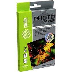 Фотобумага матовая 10х15 (100 листов) (Cactus CS-MA6190100) - БумагаОбычная, фотобумага, термобумага для принтеров<br>Будет незаменима при высококачественной печати фотографий.