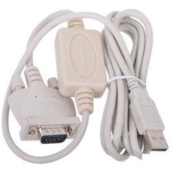 Кабель USB A (m) - COM DB9 (m) 1.8 м (Gembird UAS 111) - Кабель, переходникКабели, шлейфы<br>Кабель-адаптер для подключения устройств с интерфейсом DB9 к USB-порту компьютера