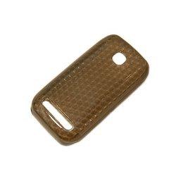 Силиконовый чехол-накладка для Nokia 603 (Palmexx) (черный) - Чехол для телефонаЧехлы для мобильных телефонов<br>Чехол предназначен для защиты Вашего смартфон от повреждений, потертостей и загрязнений.