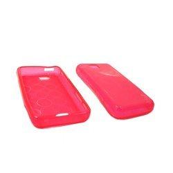 Силиконовый чехол-накладка для Samsung WiTu i900 (Palmexx) (розовый) - Чехол для телефонаЧехлы для мобильных телефонов<br>Чехол предназначен для защиты Вашего смартфон от повреждений, потертостей и загрязнений.