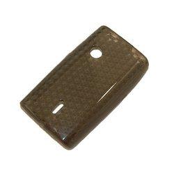 Силиконовый чехол-накладка для Sony Ericsson X8 (Palmexx) (черный) - Чехол для телефонаЧехлы для мобильных телефонов<br>Чехол предназначен для защиты Вашего смартфон от повреждений, потертостей и загрязнений.