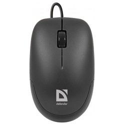 Defender Datum MM-010 Black USB - МышьМыши<br>Defender Datum MM-010 Black USB - проводная мышь, для настольного компьютера, светодиодная, 3 клавиши , разрешение сенсора мыши 1000 dpi, интерфейс USB