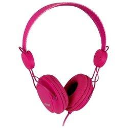 SmartBuy Trio (пурпурный) - НаушникиНаушники и Bluetooth-гарнитуры<br>SmartBuy Trio - накладные наушники полуоткрытого типа, импеданс 32 Ом, чувствительность 102 дБ, диаметр мембраны 40 мм, разъём mini jack 3.5 mm, длина провода 1.2 м