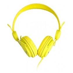 SmartBuy Trio (желтый) - НаушникиНаушники и Bluetooth-гарнитуры<br>SmartBuy Trio - накладные наушники полуоткрытого типа, импеданс 32 Ом, чувствительность 102 дБ, диаметр мембраны 40 мм, разъём mini jack 3.5 mm, длина провода 1.2 м