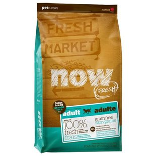 NOW FRESH Grain Free Large Breed Adult Recipe (5.45 кг)