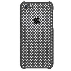 Пластиковый чехол-накладка для Apple iPhone 5C (Irual Mesh Shell IRMSC200-MBK) (черный) - Чехол для телефонаЧехлы для мобильных телефонов<br>Плотно облегает корпус и гарантирует надежную защиту от царапин и потертостей.