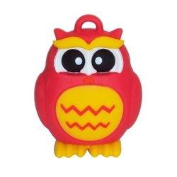 SmartBuy Owl 16GB (красный/желтый) - USB Flash driveUSB Flash drive<br>SmartBuy Owl 16GB - флэш-накопитель 16 Гб, интерфейс USB 2.0, водонепроницаемый корпус, материал корпуса: резина