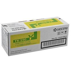 Тонер картридж для Kyocera FS-C2026MFP, C2026MFP+, C2126MFP, C2126MFP+, C2526MFP, C2626MFP, C5250DN, ECOSYS P6026cdn (Kyocera TK-590Y) (желтый) - Картридж для принтера, МФУКартриджи<br>Совместим с моделями: Kyocera FS-C2026MFP, FS-C2026MFP+, FS-C2126MFP, FS-C2126MFP+, FS-C2526MFP, FS-C2626MFP, FS-C5250DN, ECOSYS P6026cdn.