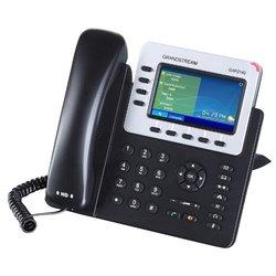 Grandstream GXP2140 - IP телефонVoIP-оборудование<br>Grandstream GXP2140 - VoIP-телефон, протоколы связи: SIP, громкая связь (Hands Free), разъем для подключения гарнитуры, встроенный цветной LCD-дисплей, порты подключения: USB, WAN, LAN