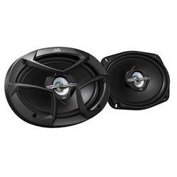 JVC CS-J6930 - АвтоакустикаАвтоакустика<br>JVC CS-J6930 - трехполосная коаксиальная АС, типоразмер: овальный 15x23 см (6x9 дюйм.), номинальная мощность 60 Вт, максимальная мощность 400 Вт, чувствительность 92 дБ, импеданс 4 Ом, диапазон частот 30 - 22000 Гц