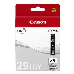 Картридж для Canon PIXMA PRO-1 (PGI-29LGY 4872B001) (светло-серый) - Картридж для принтера, МФУКартриджи<br>Совместим с моделью: Canon PIXMA PRO-1.