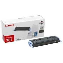 Картридж для Canon i-SENSYS LBP5000, LBP5100, Laser Shot LBP5000 (Canon 707Bk) (черный) - Картридж для принтера, МФУКартриджи<br>Совместим с моделями: Canon i-SENSYS LBP5000, LBP5100, Laser Shot LBP5000