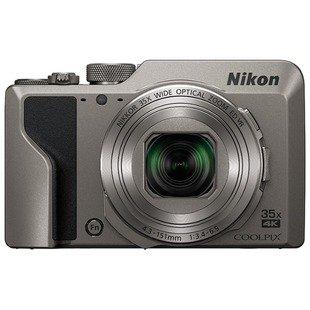 Компактный фотоаппарат Nikon Coolpix A1000 (серебристый) - Фотоаппарат цифровой