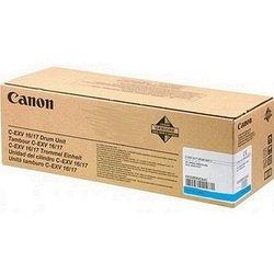 Фотобарабан для Canon iR C5180, C5180i, C5185i, C4580, C4580i, C4080, C4080i, CLC4040, CLC5151 (C-EXV 16/17C 0257B002AA  000) (голубой) - Фотобарабан для принтера, МФУ
