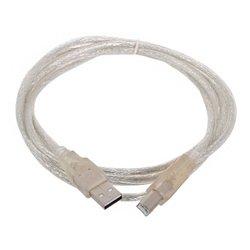 Кабель USB A (m) - USB B (m) 1.8 м (Telecom VUS6900T-1.8MTP) - Кабель, переходникКабели, шлейфы<br>Кабель c одной стороны имеет разъем USB тип A и с другой стороны USB тип B