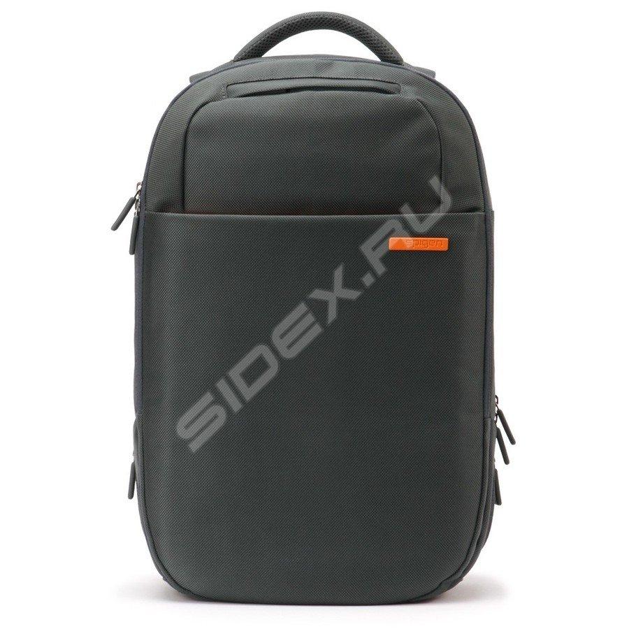 d0666161a506 РосТест - официальная гарантия производителя рюкзак для ноутбука spigen sgp  klasden 2 backpack (sgp10550) (серый)