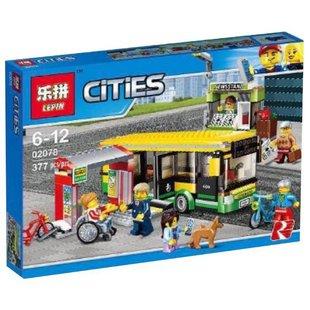 Конструктор Lepin Cities 02078 Автобусная остановка - КонструкторКонструкторы<br>