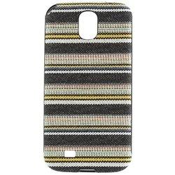 Чехол-накладка для Samsung Galaxy S4 (Ikins IKG4fadeB) (Denim Stripe) - Чехол для телефонаЧехлы для мобильных телефонов<br>Плотно облегает корпус и гарантирует надежную защиту от царапин и потертостей.