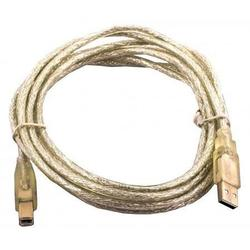 Kабель USB 2.0 Ningbo USB A (m) - USB B (m) 1.8 м - Кабель, переходникКабели, шлейфы<br>Kабель USB 2.0 Ningbo с разъемами USB A (m) - USB B (m), цвет - прозрачный.