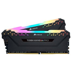 Оперативная память Corsair CMW16GX4M2C3600C18 - Память для компьютераМодули памяти<br>Оперативная память Corsair CMW16GX4M2C3600C18 - DDR4 3600 (PC 28800) DIMM 288 pin, 2x8 ГБ, 1.35 В, CL 18
