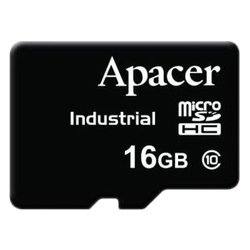 apacer industrial microsdhc class 10 16gb